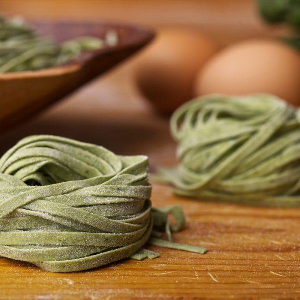 Fettuccine agli Spinaci